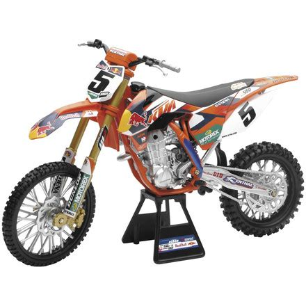 toy motocross bike dirt bike new ray toys 1 6 ryan dungey red bull ktm 450sx