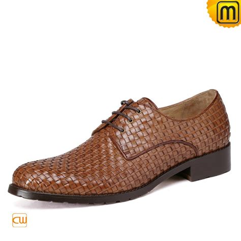 designer woven leather oxford shoes for cw762019