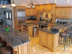 Granite Kitchen Cabinets Granite Countertops For Your Modern Kitchen Modern Magazin