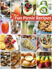 fun picnic recipes tauni co