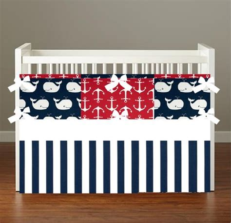 Nautical Baby Boy Bedding by 1000 Ideas About Nautical Crib Bedding On