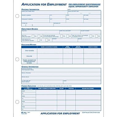 Rite Aid Resume Paper by Great Employment Application Employment Application