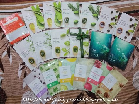 Harga Innisfree Black Green Tea Mask beautifulily journal review innisfree it s real squeeze