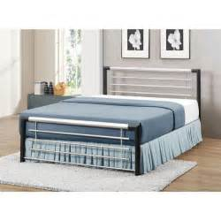 Black Metal King Size Bed Frame Birlea Faro Silver Black Metal King Size Bed Frame Gardener