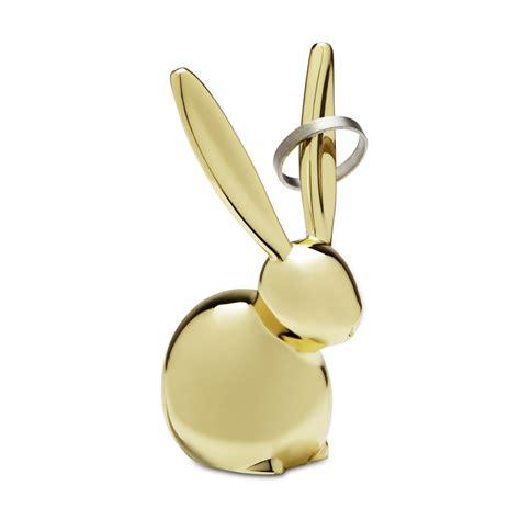 ring holders zoola bunny ring holder brass umbra