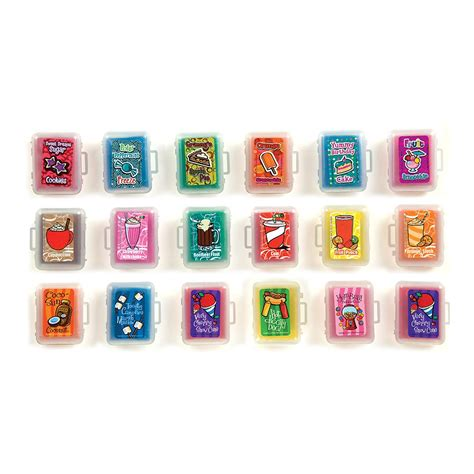 Fun Erasers: Scent sibles Kneaded Eraser Assortment   Shop