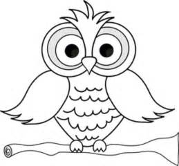 Owl Image Outline by Outline Of An Owl Cliparts Co