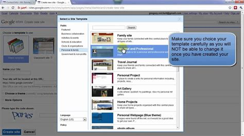 web design using google sites part 1 of 3 create a website for your students using