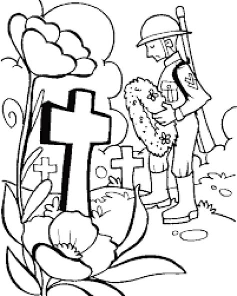 memorial day coloring page northern news