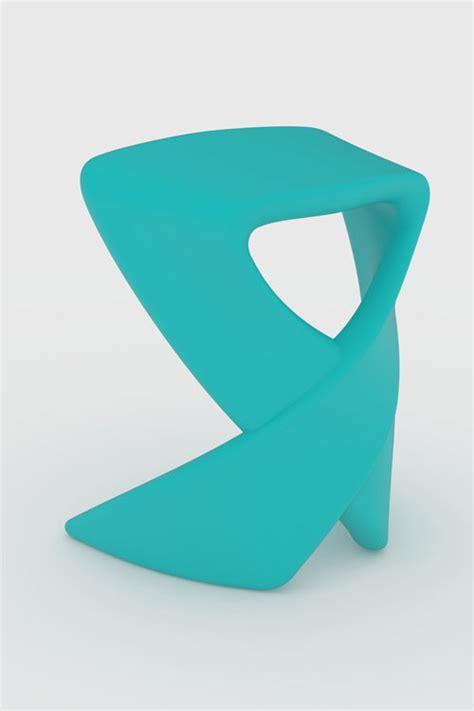 ribbon stool by nick rawcliffe for deadgood design milk