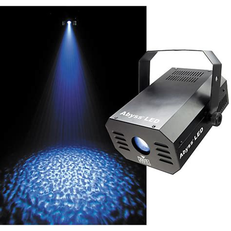 Speaker Multi Colour Led With Water Effect T3009 2 chauvet dj abyss led rippling water lighting effect