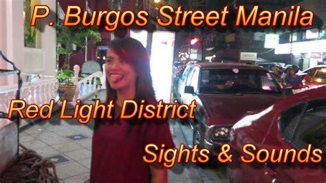 manila light district p burgos manila light district sights and