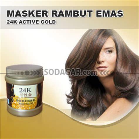 Masker Rambut Gold masker rambut emas 24k active gold 24k gold hair mask