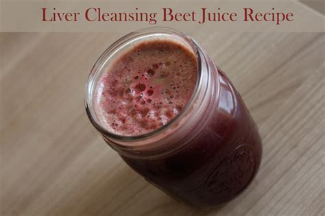 Liver Detox Juice Recipe With Beets by Liver Cleansing Beet Juice Recipe Yogabycandace