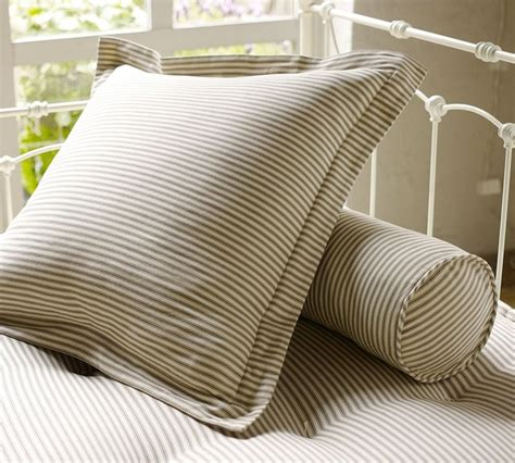 Pillow Ticking Bedding | ticking stripe pillow cover traditional shams by