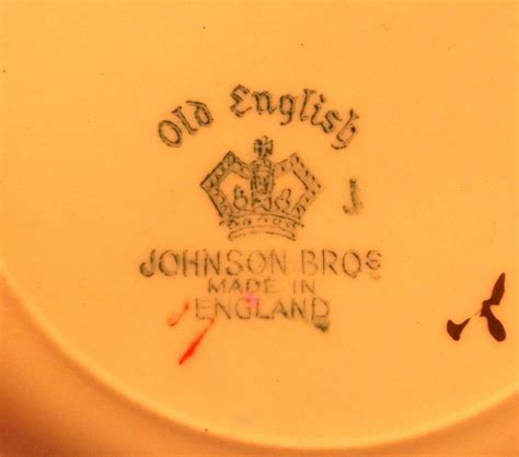 Johnson Bros. Old English Vintage China Tea Trio
