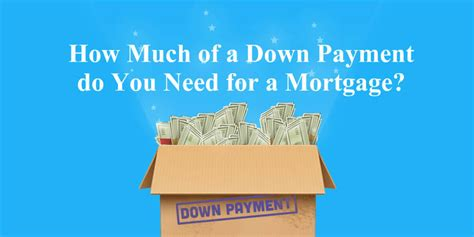 how much of a down payment for a house how much of a down payment you need for a mortgage loan 2017