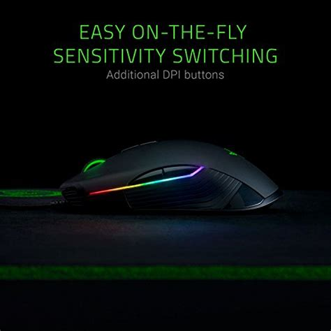 Razer Lancehead Chroma Ambidextrous Wireless Gaming Mouse razer lancehead tournament edition professional grade