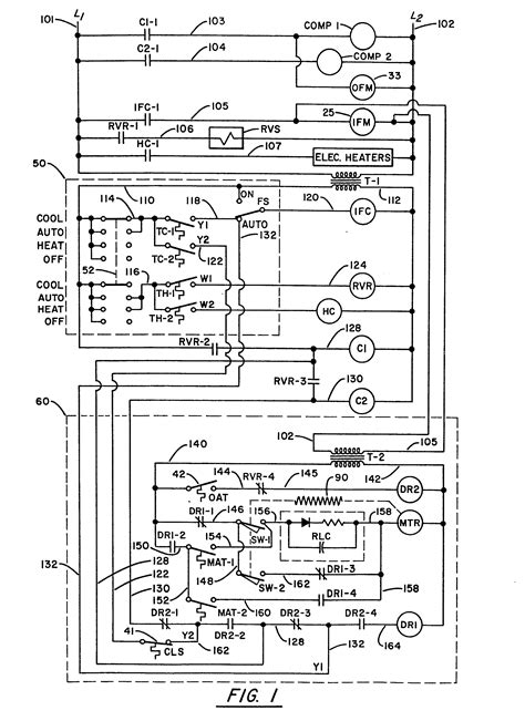 trane xe1000 contactor wiring diagram trane thermostat