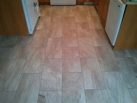brick pattern tile  kitchen