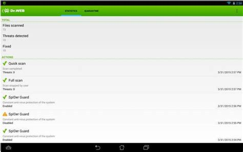 free for android phones top 10 best free antivirus for android phones and tablets