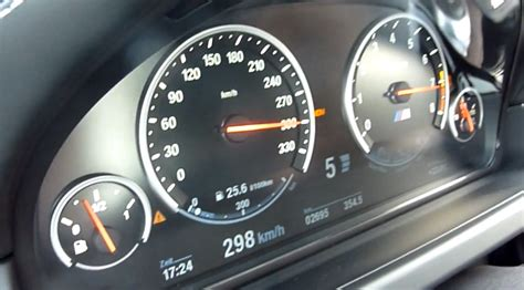 6 Km H Auto by The Bmw M6 Gran Coupe Accelerate To 300 Km H