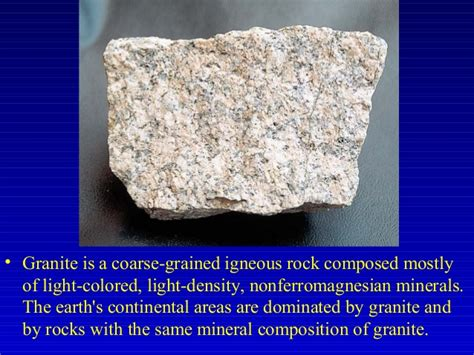ch17 rocks and minerals