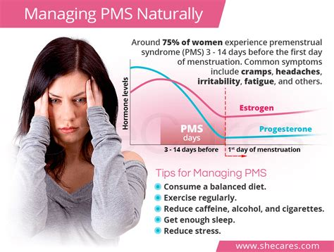 mood swings headaches fatigue dizziness managing pms naturally shecares com