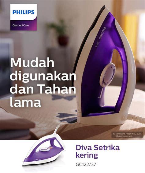 Setrika Kering Philips Gc122 philips dive iron gc122 37 350w ungu lazada indonesia
