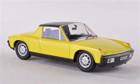 porsche 914 yellow porsche 914 clair yellow schuco diecast model car 1 43