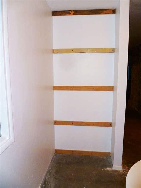 Drywall Shelf by Mitchellsigman Midcenturymalaise