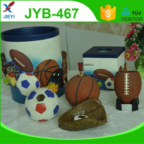 sports bathroom accessories sports design bathroom set for bathroom