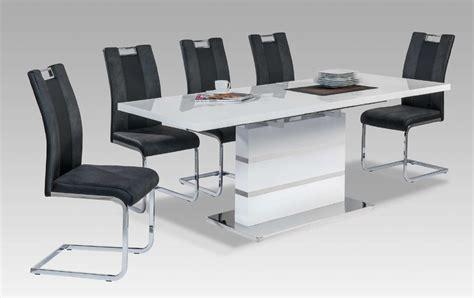 table salle a manger gris laqu table de salle manger