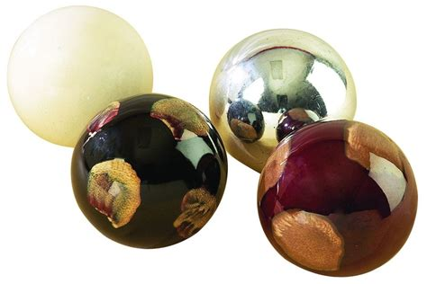Ceramic Decorative Balls by Modern Reflections Ceramic 4 Quot Decorative Balls Set Of 4