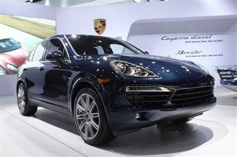 Porsche Diesel Cars by 2013 Porsche Cayenne Diesel Live Photos 2012 New York