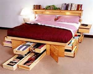 Platform Bed With Gun Storage Creative Bed Storage Ideas For Bedroom Hative