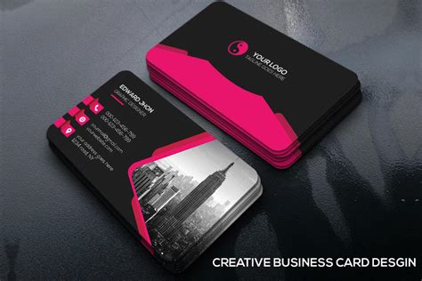 unique business card templates free creative business cards www pixshark images