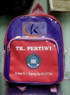 Tas Tk Paud Frozen tas sekolah tk dan paud percetakan dan sablon murah