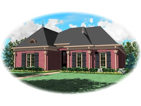 House Plans And More Com louisiana european country home plan 087d 0646 house plans