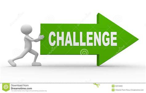 Or Challenge Challenge Stock Photos Image 32316993