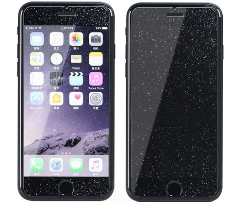 Jual Premium Glitter Bling For Iphone 5 6 6plus 7 7plus Hardcase premium glitter shiny tempered glass screen protector for iphone 4s 5s 6s 7 ebay