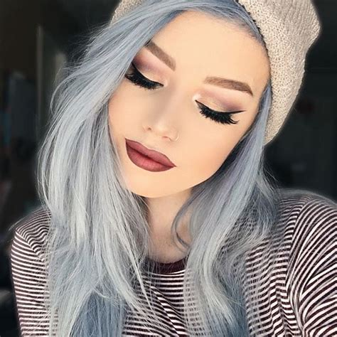 best 25 pastel blue hair ideas on baby blue