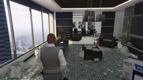 oficina v oficina vip llena de dinero gta v online youtube