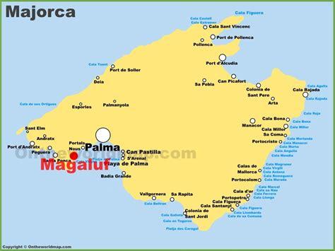 mallorca world map majorca map threeblindants