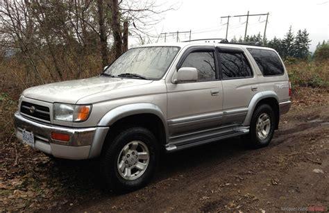 1998 Toyota 4runner Mpg 1998 Toyota 4runner Limited 4x4 1998 Toyota 4runner