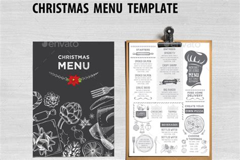 38 christmas menu templates free psd word pdf designs