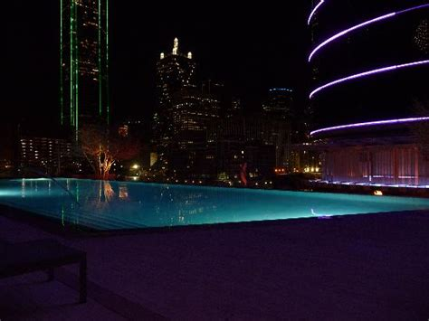 pool at night pool at night picture of omni dallas hotel dallas