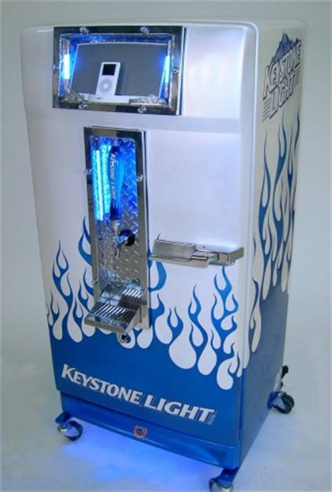 how much is a keg of keystone light kegerator with an ipod dock is for your mancave or