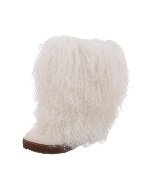 bearpaw boots womens comfortable boetis curly fur 11