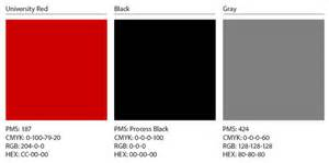 Colors That Go With Dark Grey Visual Style University Marketing Amp Communications